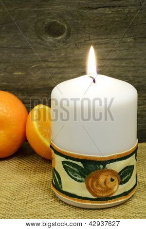 Candle And Clementines...