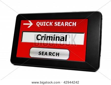 Search For Criminal