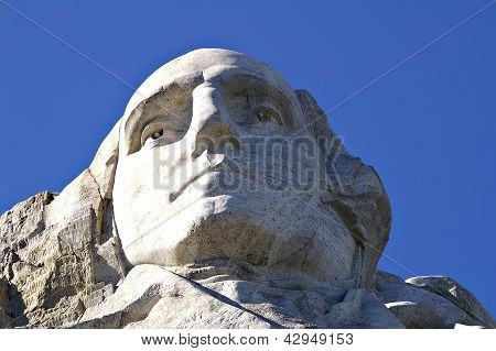 George Washington at Mount Rushmore