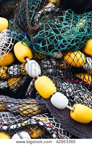Fishing Nets And Floats