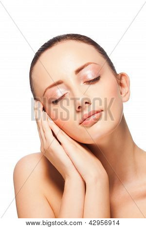 Woman Expressing Tenderness