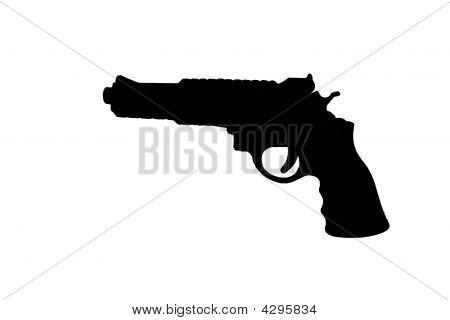 Revolver Silhouette