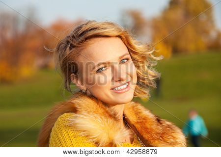 Blond Girl With Big Nice Smile