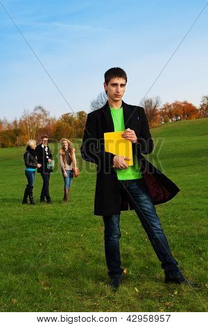 Student In The Park
