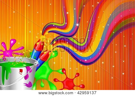 Holi Celebration Design