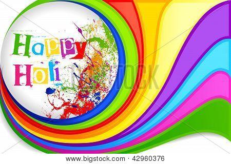 Desenho de fundo do Festival Holi