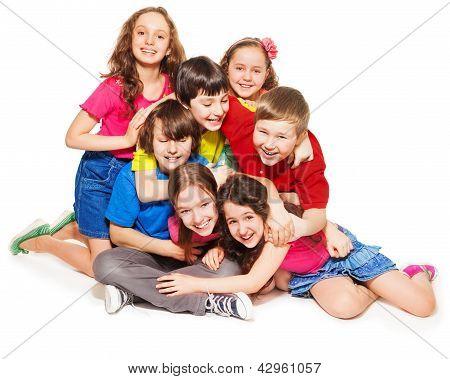 Big Lump Of Laughing Kids