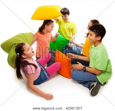 Pillow Fight Activity