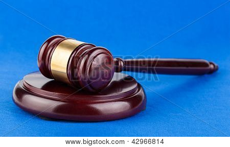 Wooden Brown Gavel