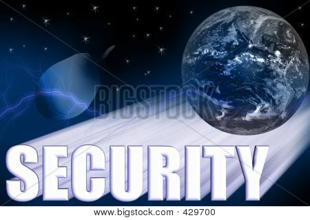 Security 3-d Illustration