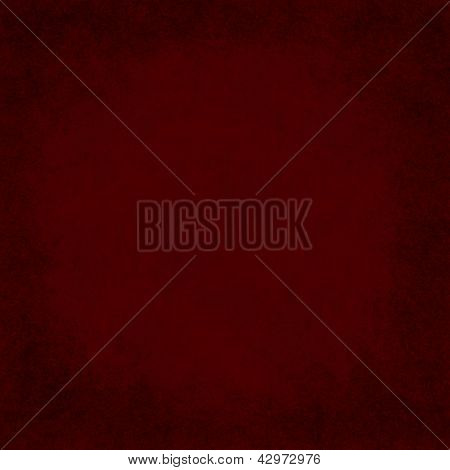 Square Red Grunge Textured Background