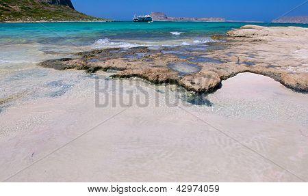 Pink Sand Island Balos.