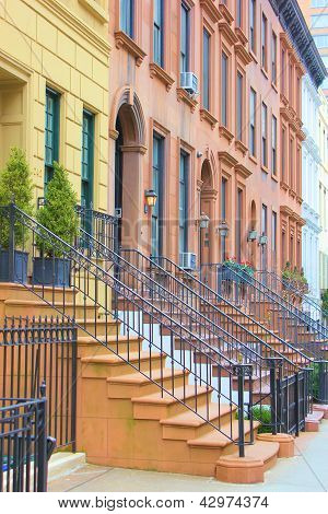 Nueva York Brownstones