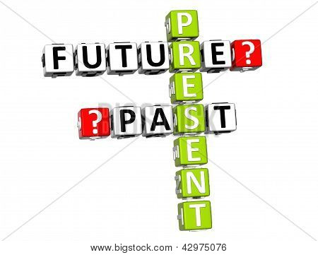 3D Present Future Past Crossword