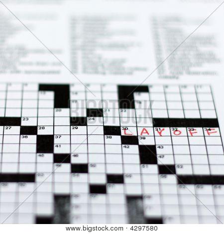 Layoff Crossword
