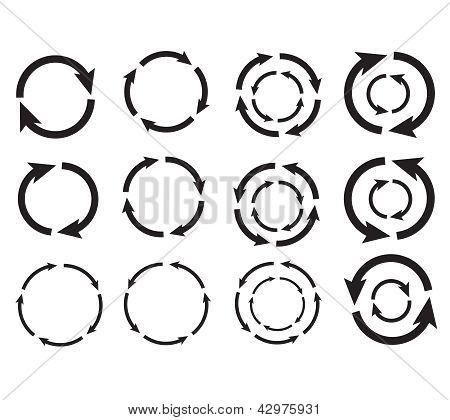 Arrow Circle