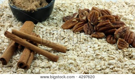 Oatmeal Breakfast Fixings