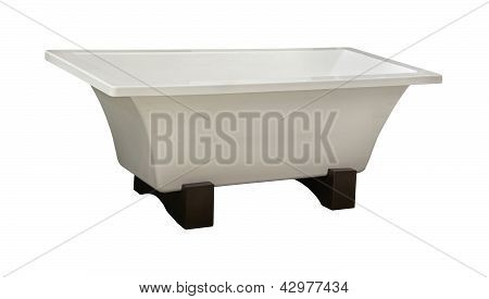 Self Standing Bathtub