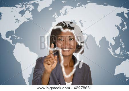 Africam Business Woman, Social Network