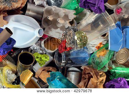 Recyclage van afval
