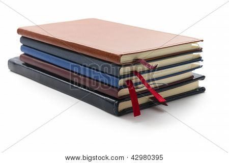 Stack Of Diaries