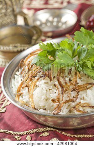 rice jeera, Indian food.