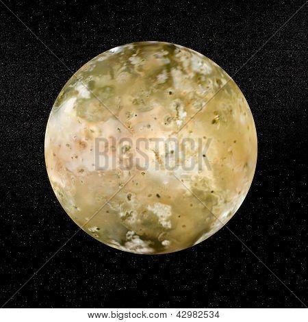Io Planet - 3D Render