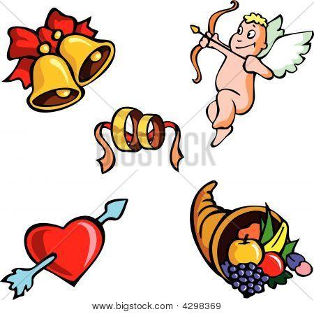 St.valentine's Icons