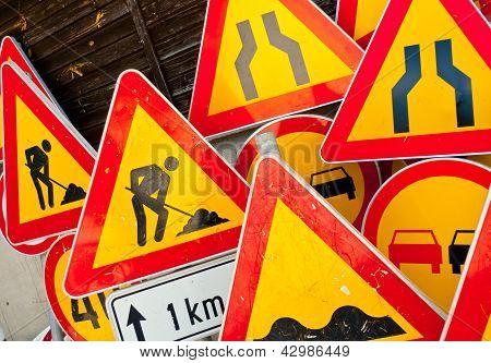 Roadwork Signs