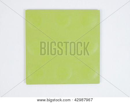 Green rubber linoleum sample