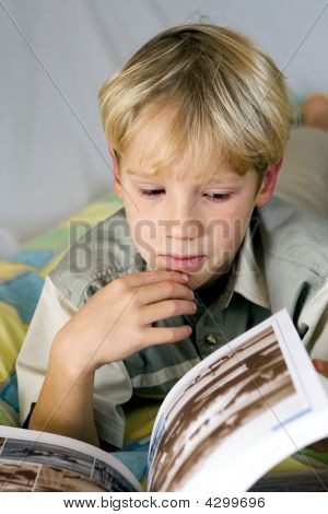 Boy And Book