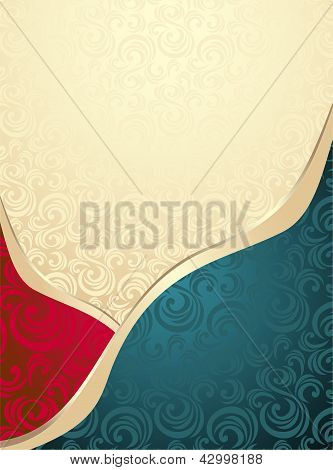 Abstract Seamless pattern or background
