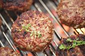 stock photo of burger  - food meat  - JPG