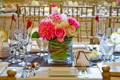 picture of centerpiece  - Table setting - JPG