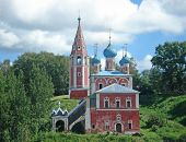 picture of uglich  - Church of Prince Dmitry on the Blood in  Russia - JPG
