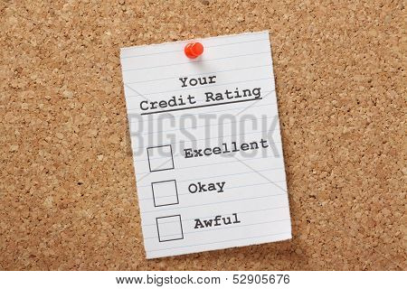 Your Credit Rating
