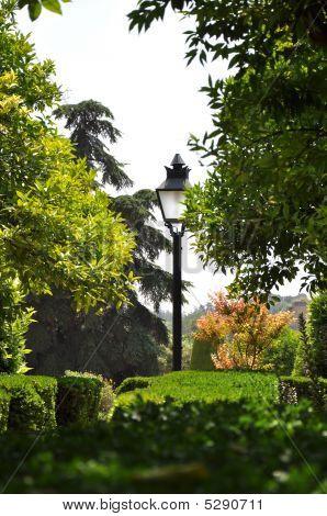 Palace Gardens Of Alcazar
