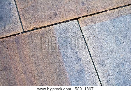 Close Up Paving Slabs