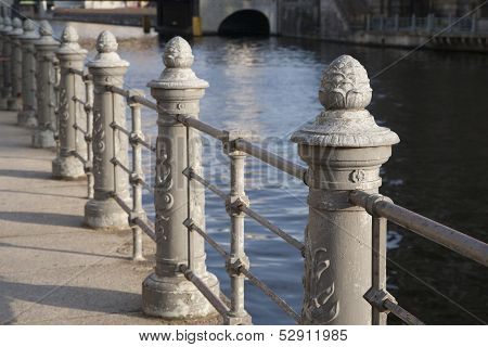 River Spree Embankment; Berlin