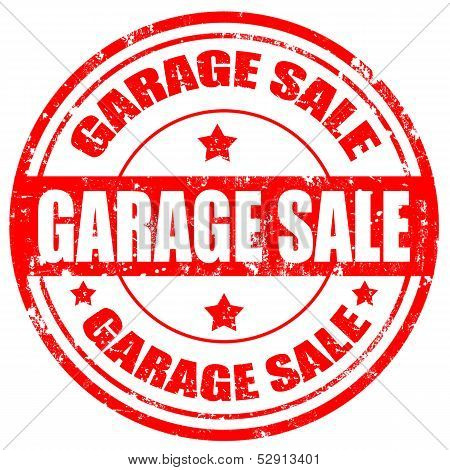 Garage Sale-stamp