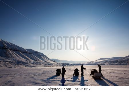 Winter Adventure Landscape