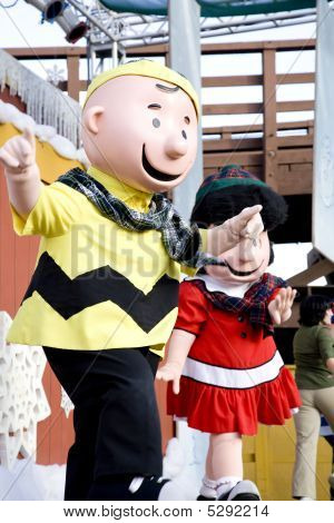 Charlie Brown At Knott's Berry Farm