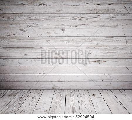 Gray Wooden Room