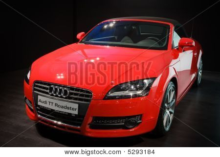 Moscow, Russia - 28 August, 2008: Audi Tt At Moscow International Exhibition Motorshow 2008, Moscow,