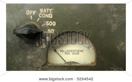 Vintage Radiation Meter