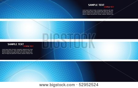 Business banners. Vector.