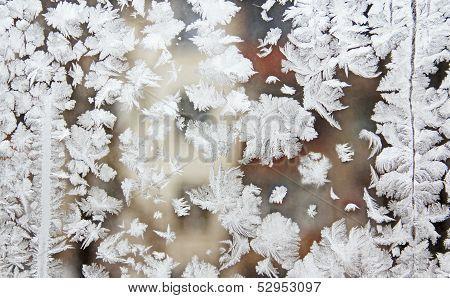 Frost On The Glass.