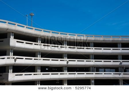 Parking Garage At The Airport
