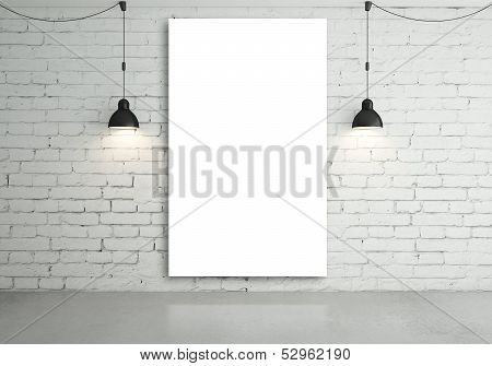 Lamps And Poster