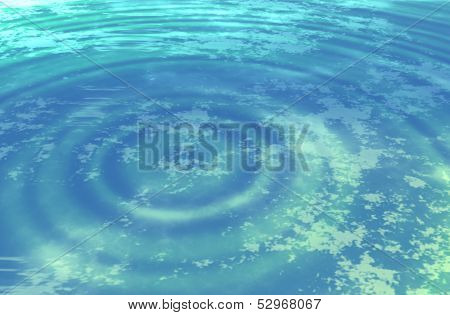 Glowing blue spiral or vortex. science fiction type abstract background